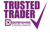 We are a Derbyshire Council Trusted Trader