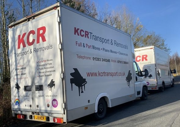 KCR Transport & Removals Luton Vans